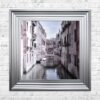 Venice Bridge - Curved Bridge - Flowers - Steel Frame - Mounted