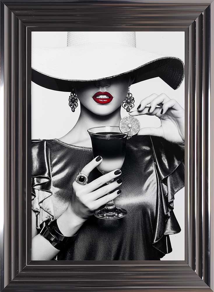 Retro Chic (Metallic Frame)