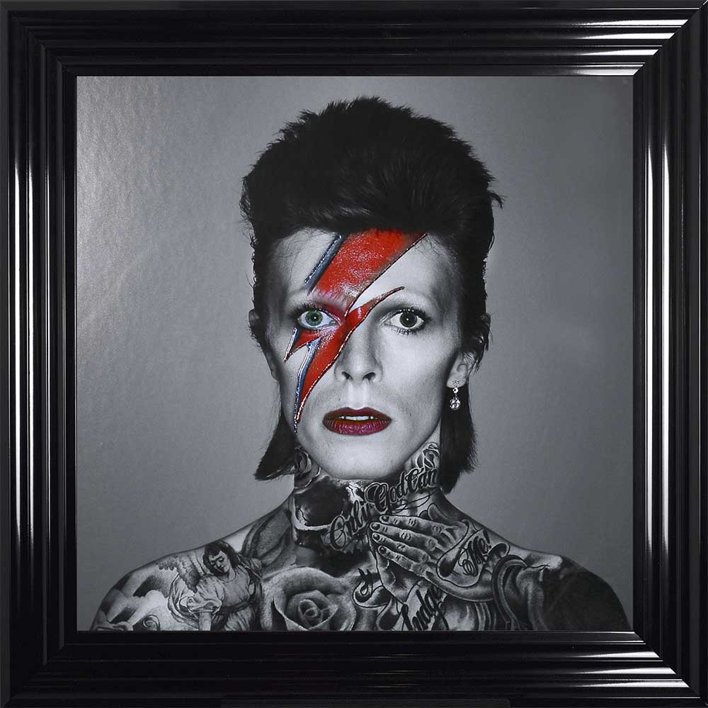David Bowie - A Lad Insane (Black 75 Frame)