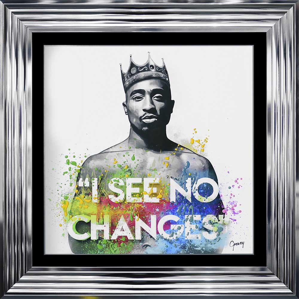 Tupac Shakur - No Changes (Chrome 75 Frame)