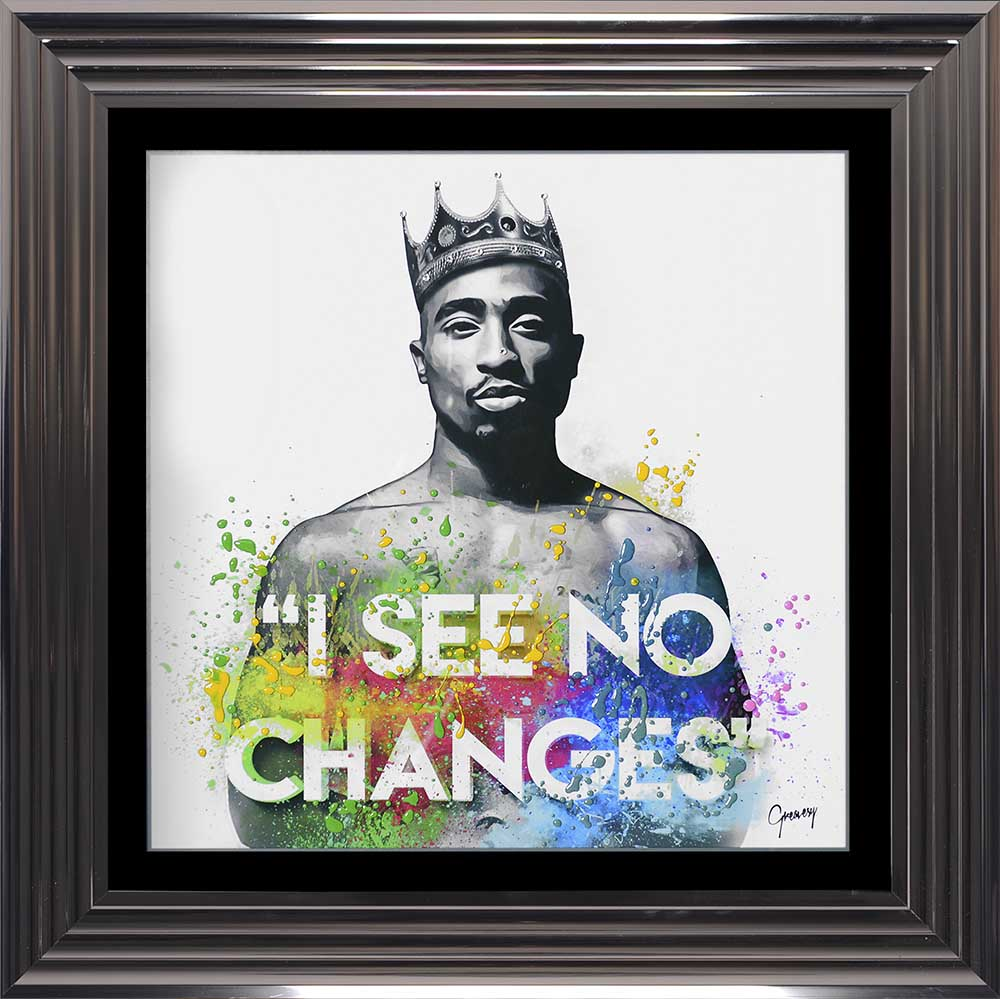 Tupac Shakur - No Changes (Metallic 75 Frame)