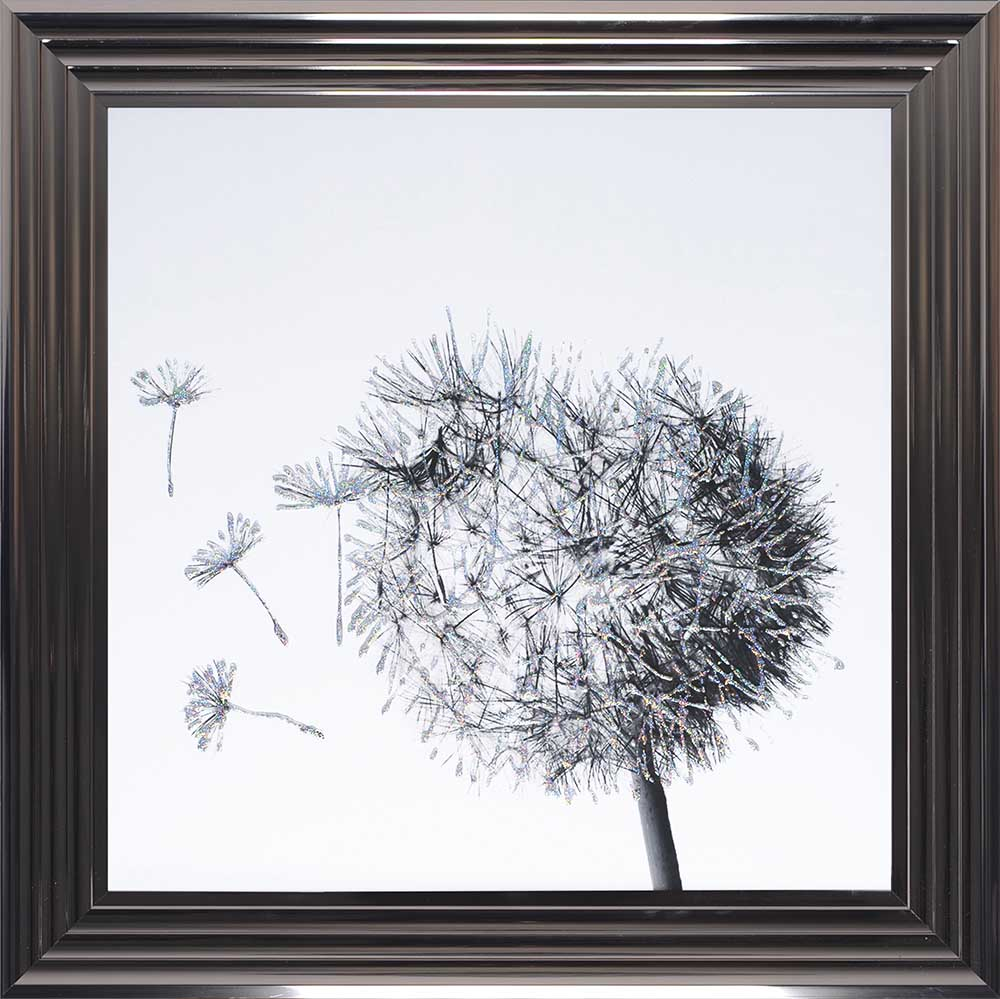Dandelions To The Left (Metallic 75 Frame)