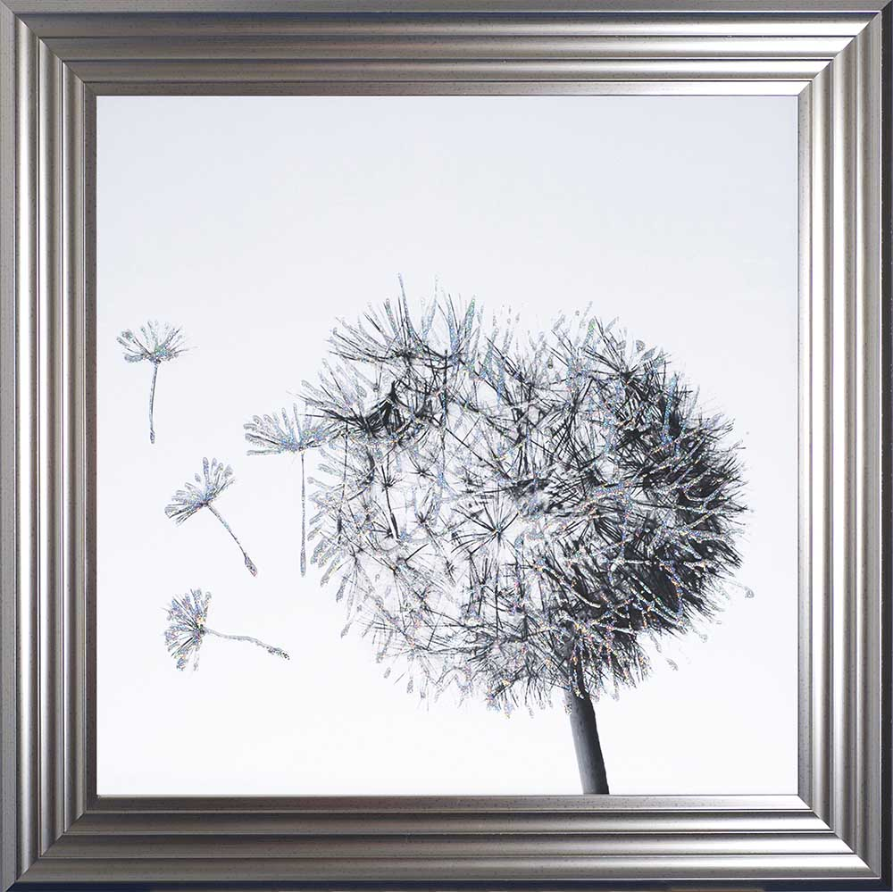 Dandelions To The Left (Silver 75 Frame)