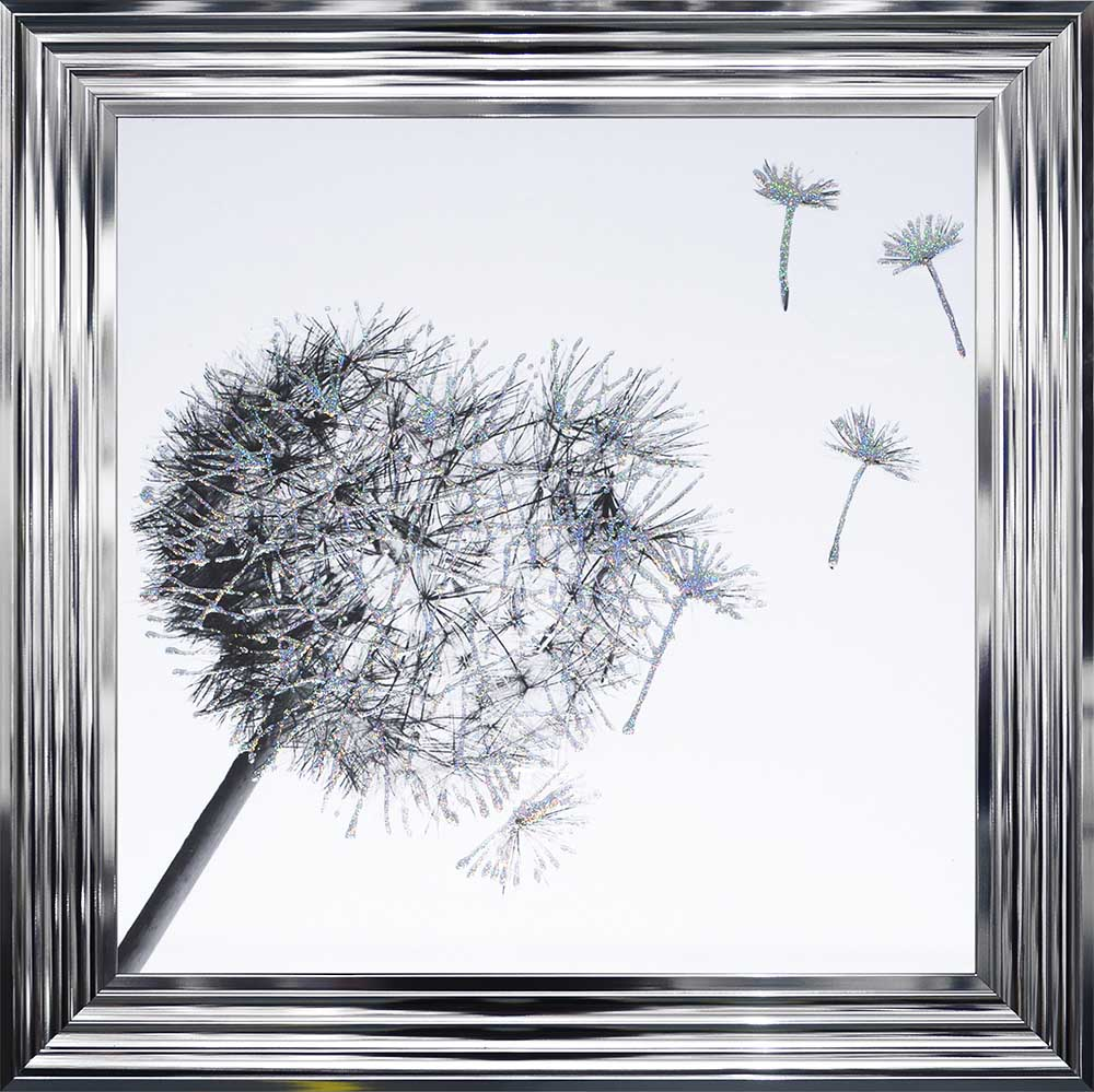 Dandelions To The Right (Chrome 75 Frame)