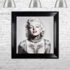 Marilyn Monroe - Tattooed - Red Lips - Mounted