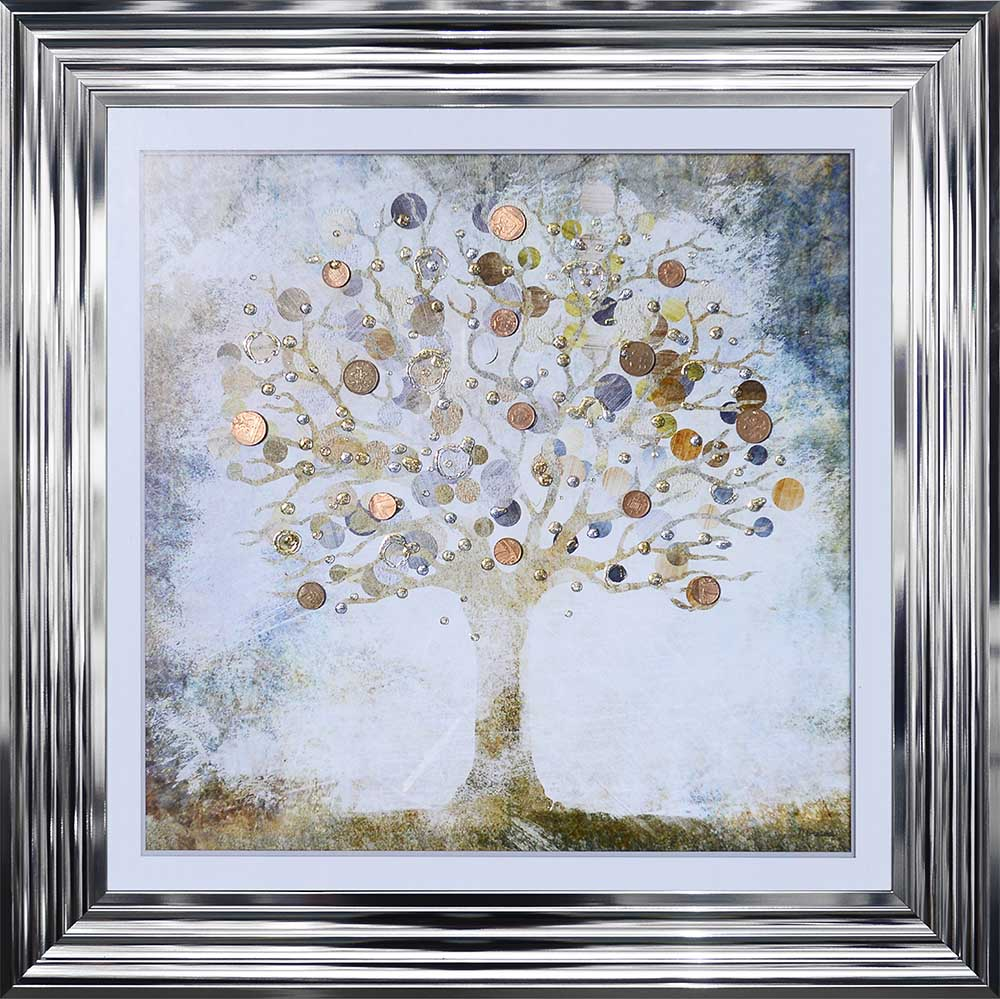 Copper Money Tree (Chrome 75 Frame)