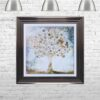 Copper Money Tree - Money Tree - Metallic Frame - Mounted