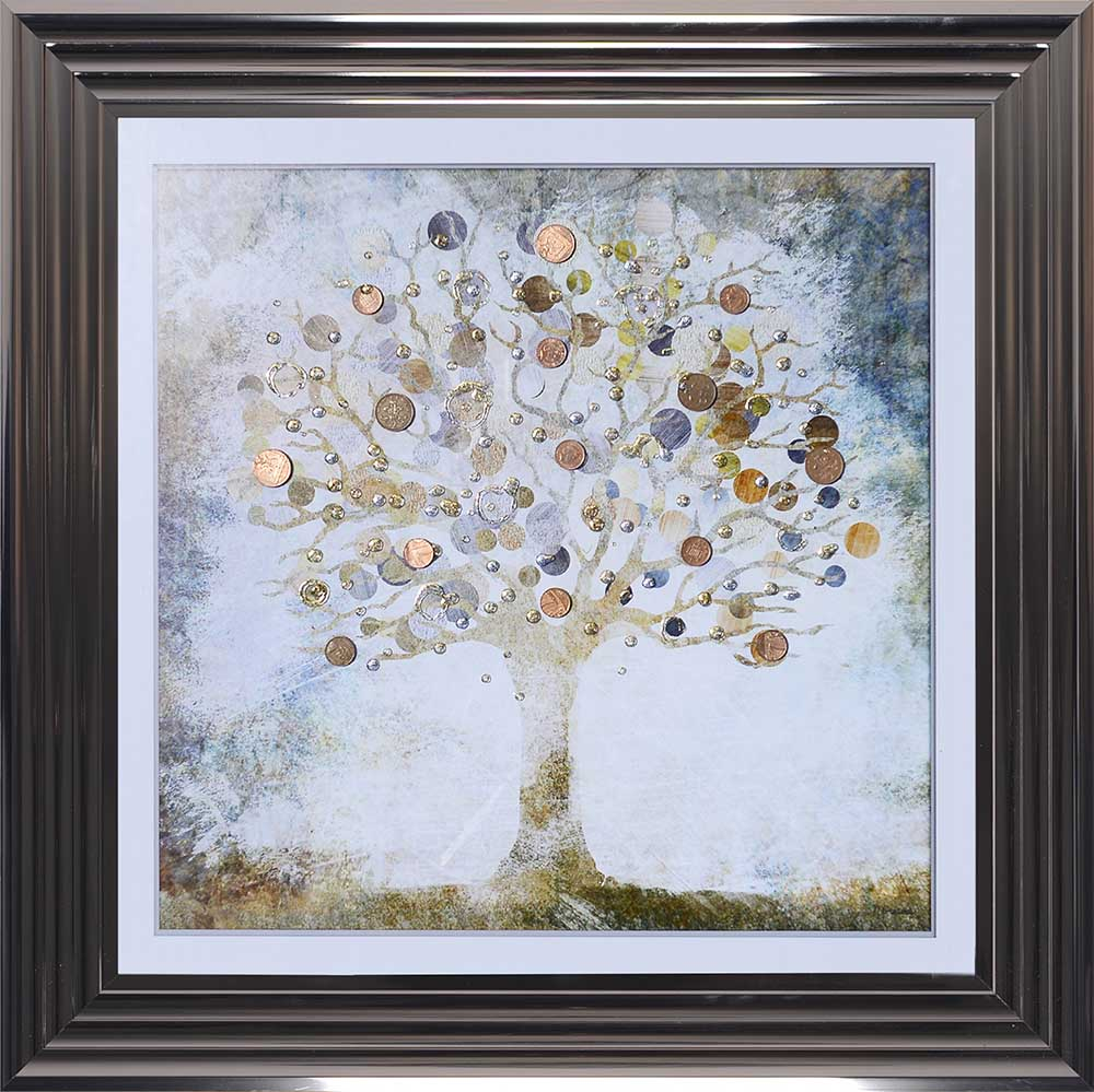 Copper Money Tree (Metallic 75 Frame)