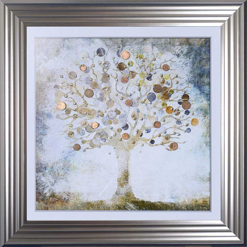 Copper Money Tree (Silver 55 Frame)