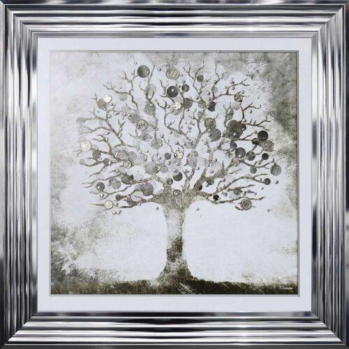 Silver Money Tree - Money Tree - Chrome Frame