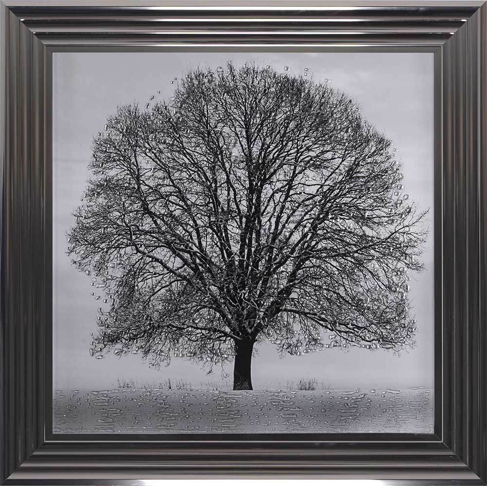 A Winter's Tree (Metallic 75 Frame)