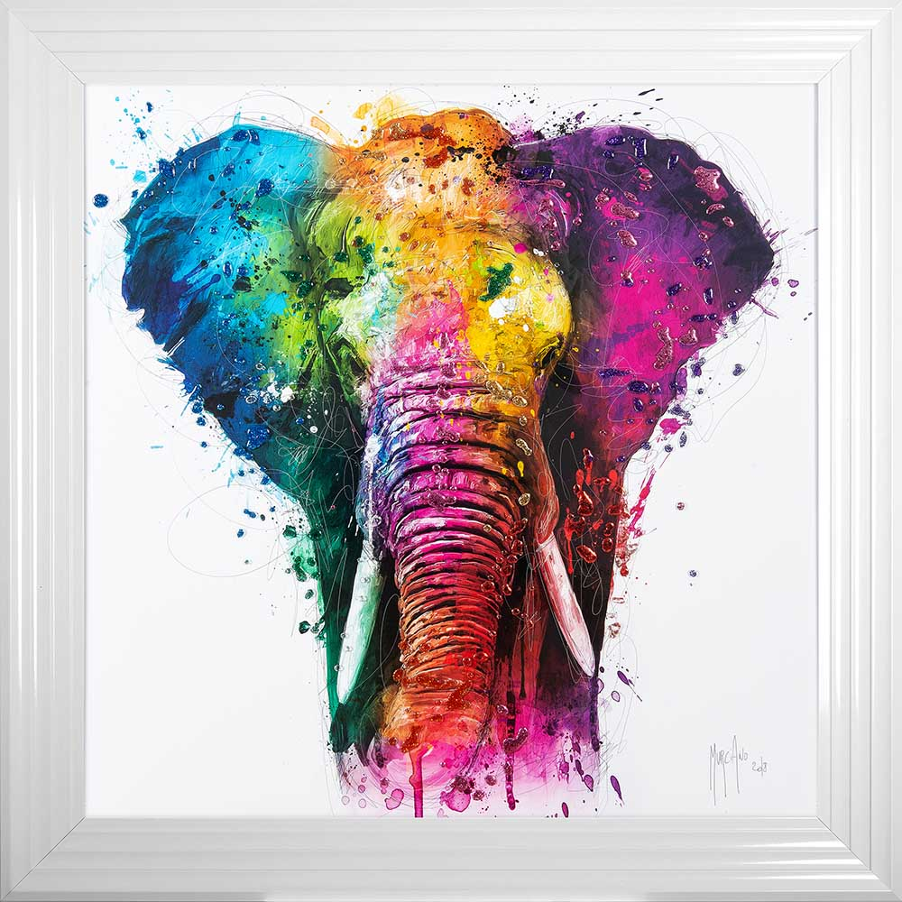 Africa by Patrice Murciano (White 85 Frame)