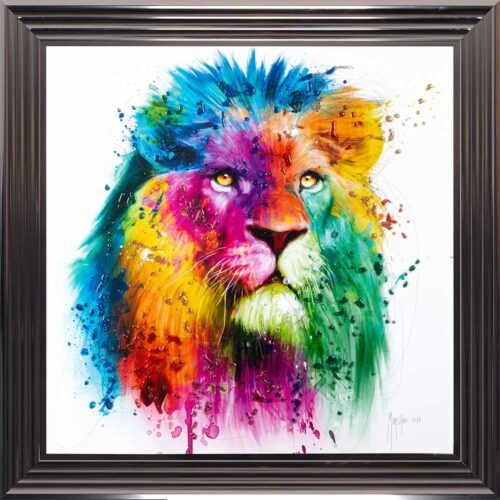 Lion - Pride - Patrice Murciano - Colour - Metallic Frame